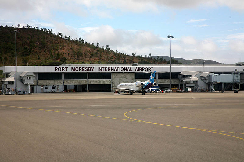 Port Moresby Jacksons Airport is the main international airport serving Port Moresby, Papua New Guinea's capital.